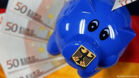 Đức dự kiến giảm nợ công xuống dưới 60% GDP vào năm 2020