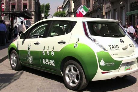 Mexico City triển khai taxi hybrid