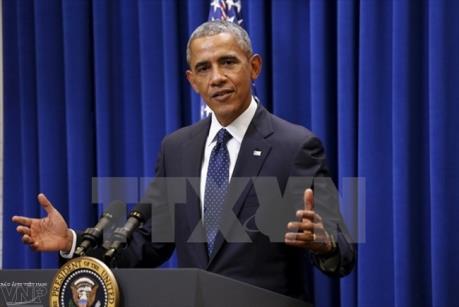 Tổng thống Obama: Mỹ tiếp tục mối quan hệ thân hữu với Anh và EU