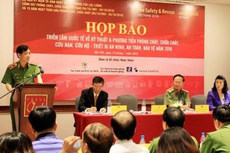 Hơn 150 đơn vị tham gia triển lãm Secutech Vietnam 2016