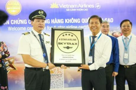 Vietnam Airlines lọt top 3 hãng hàng không tiến bộ nhất thế giới 2016