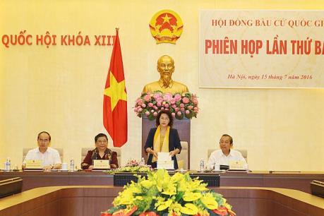 Phiên họp thứ bảy Hội đồng bầu cử quốc gia