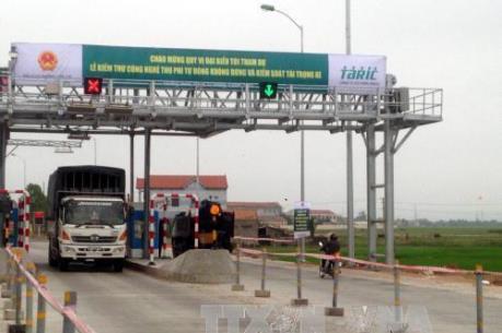 Trạm thu phí Phú Hài (tỉnh Bình Thuận) sẽ dừng hoạt động từ 1/1/2017