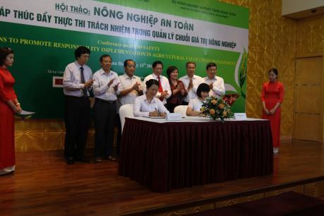 Agribank và Vingroup ký kết thỏa thuận hợp tác phát triển nông nghiệp