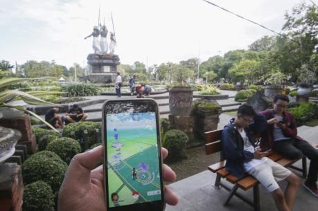 Indonesia cấm lực lượng an ninh chơi trò Pokemon Go