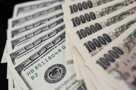 Đồng yen giảm xuống đáy của 6 tuần so với USD