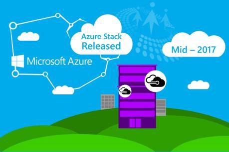 Microsoft sẽ giới thiệu nền tảng Azure Stack từ khoảng giữa năm 2017