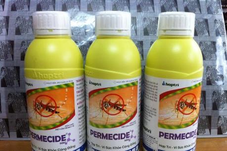 Phạt nặng vi phạm về buôn bán chế phẩm diệt côn trùng