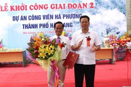 Hà Giang khởi công Dự án công viên Hà Phương - giai đoạn II