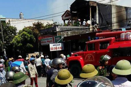 Cháy cửa hàng vàng mã tại Hải Phòng làm 2 cháu nhỏ thiệt mạng