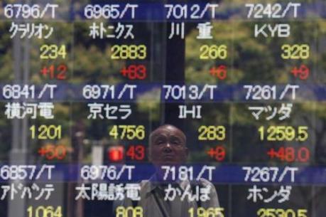 Chứng khoán châu Á chuyển động trái chiều trong phiên đầu tuần