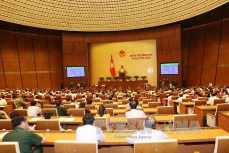 Kỳ họp thứ Nhất, Quốc hội khóa XIV: Trình Quốc hội phê chuẩn bổ nhiệm các Phó Thủ tướng