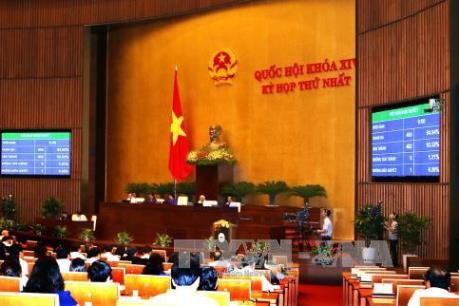 Kỳ họp thứ Nhất, Quốc hội khóa XIV: Quốc hội bầu Phó Chủ tịch nước