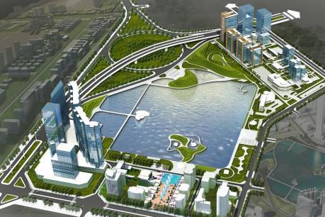 Dự án công viên, hồ điều hòa Yên Hòa sẽ hoàn hành vào năm 2018