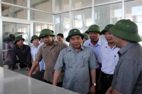 Thủ tướng Nguyễn Xuân Phúc chỉ đạo rút kinh nghiệm về cơn bão số 1