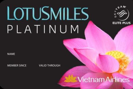 Vietnam Airlines tạm khóa chức năng trực tuyến của thẻ Bông Sen Vàng