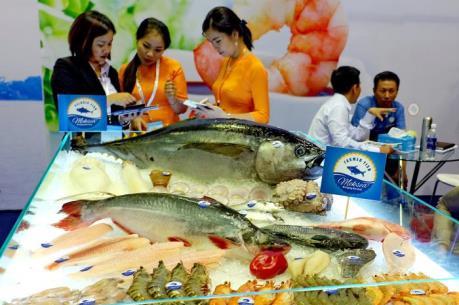 Khai mạc Hội chợ chuyên ngành thủy sản quốc tế Vietfish 2016