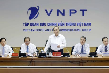 Thủ tướng Nguyễn Xuân Phúc: VNPT cần nâng cao hiệu quả quản trị doanh nghiệp