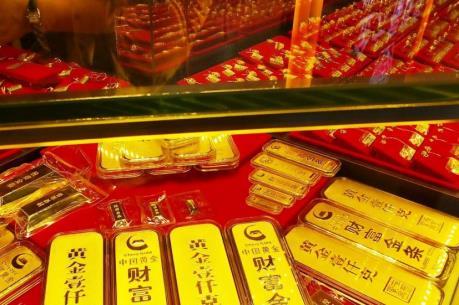 Giá vàng châu Á ngày 8/8 tiếp tục giảm