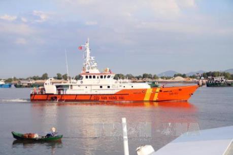 Tìm thấy một thi thể trong vụ chìm tàu tại Bình Thuận