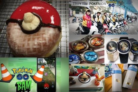Nở rộ dịch vụ kinh doanh ăn theo Pokemon Go
