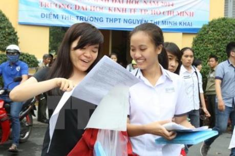 Các trường đại học tại TP Hồ Chí Minh đồng loạt công bố điểm chuẩn