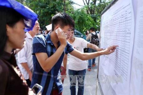 Hàng loạt trường đại học ở phía Bắc công bố điểm trúng tuyển đại học