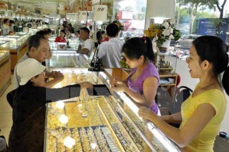 Đầu tuần, giá vàng ổn định ở mức 55,7 triệu đồng/lượng