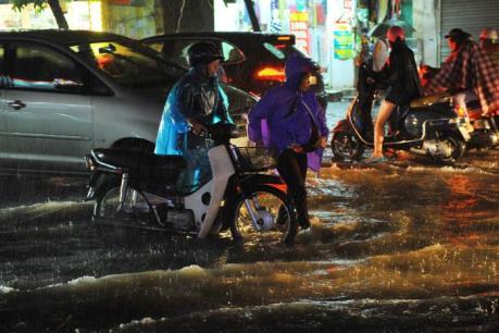 Hà Nội có những điểm nào còn úng ngập khi mưa lớn kéo dài?