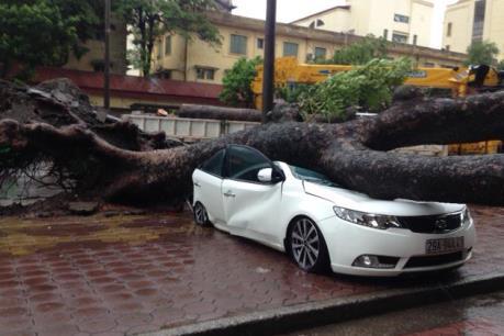 Ứng phó với bão số 3: Hà Nội bố trí lực lượng, phương tiện đảm bảo an toàn giao thông