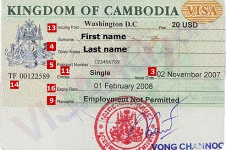 Campuchia cấp thị thực thời hạn 3 năm cho người nước ngoài