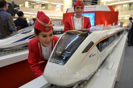 Dự án đường sắt cao tốc đầu tiên ở Indonesia