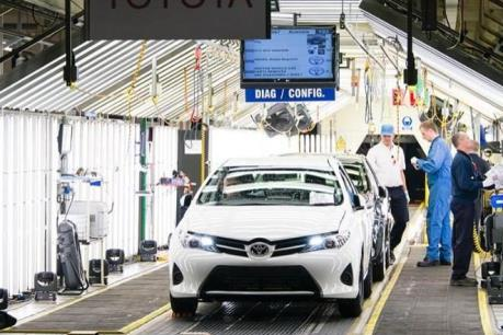 """Ngành sản xuất ô tô ở nước Anh gặp khó trước nguy cơ """"Brexit cứng"""""""