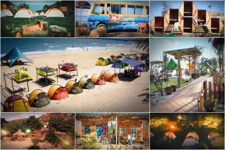 """5 địa điểm """"ngủ lều cạnh biển"""" không thể bỏ qua dịp lễ 2/9"""