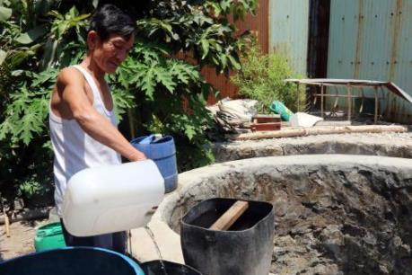 """Người dân thôn Bồ Bản """"khát"""" nước"""