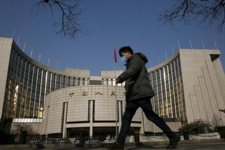 Tài sản trong nước của ngành ngân hàng Trung Quốc tăng khá