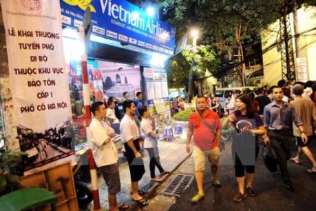 Từ 1/9, Hà Nội có thêm không gian đi bộ khu vực hồ Hoàn Kiếm và vùng phụ cận