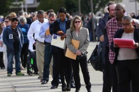 """Thị trường việc làm tiếp tục là """"điểm sáng"""" ở Mỹ"""