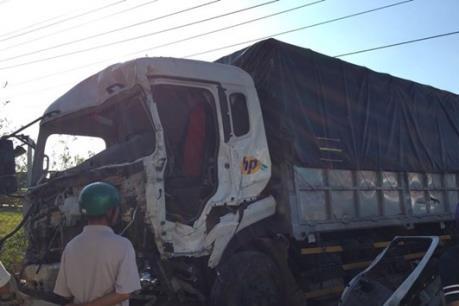 Tai nạn giao thông trên Quốc lộ 14 làm 3 người bị thương nặng