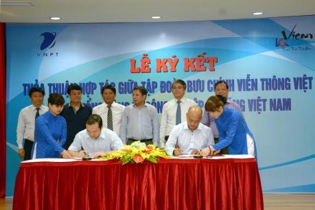 VNPT với VICEM ký kết thỏa thuận hợp tác chiến lược toàn diện