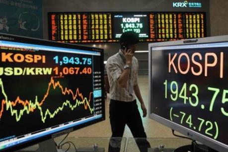 Chứng khoán Hàn Quốc giảm mạnh sau vụ thử hạt nhân tại CHDCND Triều Tiên