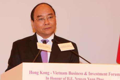 Thủ tướng Nguyễn Xuân Phúc dự Diễn đàn Kinh doanh và Đầu tư Việt Nam - Hong Kong