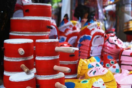 Nét đẹp từ những món đồ chơi Trung thu truyền thống