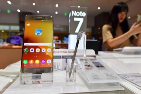Samsung tiếp tục thu hồi Galaxy Note 7 tại Mỹ