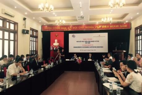 Khả năng tham gia vào chuỗi giá trị toàn cầu của Việt Nam còn yếu.