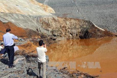 Sự cố thủy điện Sông Bung 2: Phát hiện một thi thể nghi của công nhân mất tích
