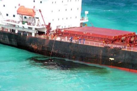 Tàu chở than Trung Quốc bồi thường hơn 39 triệu AUD cho Australia