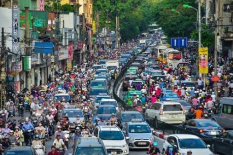 Hà Nội chính thức phê duyệt đề án hạn chế xe máy