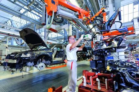 Kinh tế Đức có thể giảm tốc do sản lượng công nghiệp đi xuống