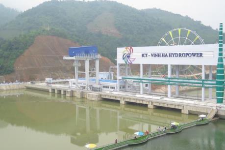 Khánh thành nhà máy thuỷ điện cột nước thấp thứ 2 tại miền Bắc